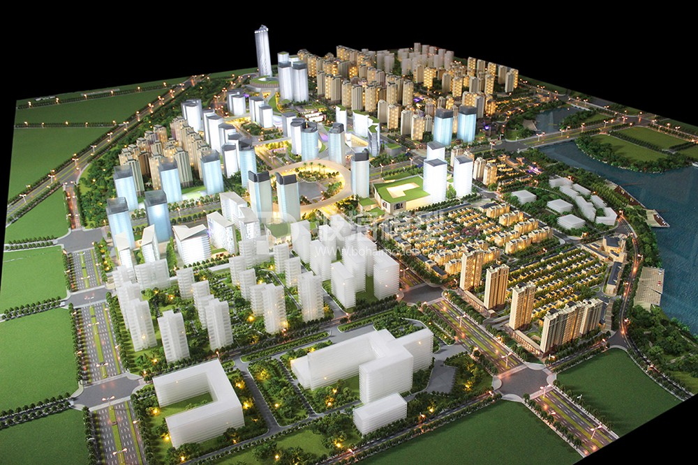 Lanzhou Greenland financial city planning 1-400